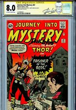 Thor Journey into Mystery 87 CGC 8.0 SS X3 Stan Lee Lieber Ayers None Higher