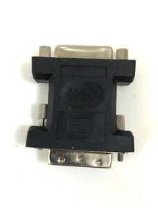 Micro Connectors DVI-D Male to DVI-I Female Adapter G08-223