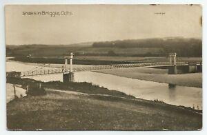 Shakkin Briggie Cults Bridge River Postcard RPPC Postcard