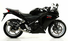 SILENCIEUX ARROW ALU DARK HONDA CBR 250 R 2011/12/13 - 71447MI+71779AON