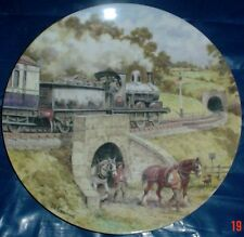 Wedgwood Limited Edition Collectors Plate INTO THE TUNNEL - COUNTRY CONNECTIONS