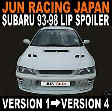 "Subaru Impreza Turbo ""JUN"" front lip spoiler/splitter"