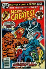 MARVEL'S GREATEST Comics #34 The FANTASTIC FOUR vs The Inhumans FN+ 6.5