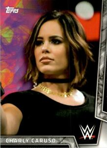 2018 Topps WWE Women's Division #10 Charly Caruso