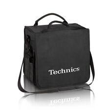 Technics Dj registro Bolsa Ruck Saco 45 Vinilo Lp capacidad logotipo SL 1200 SL1210 Plateado