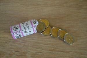 Pièce de 2 Euros Commémorative Belge Atomium 2006 Neuf absolu