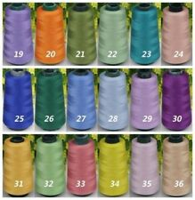 !Wholesale 3000 Yards Quality Overlocking Sewing Machine Polyester Thread Cones&