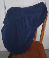 Horse Stock / Western / Swinging Saddle cover FREE EMBROIDERY Navy Australian