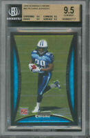 2008 bowman chrome #bc76 CHRIS JOHNSON rc BGS 9.5 9.5 9.5 9.5