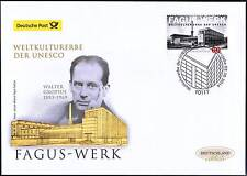 BRD 2014: Fagus-Werk! Post-FDC der Nr. 3105 mit Berliner Ersttags-Stempel! 1701
