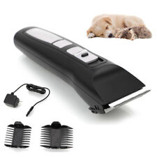 PHC-720 Low Noise Professional Pet Dog Cat Hair Electric Grooming Clipper Black
