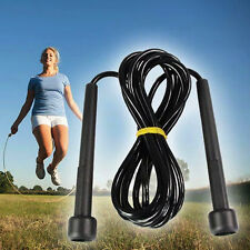 Speed Wire Skipping Adjustable Jump Rope Fitness Sport Exercise Cardio Crossfit