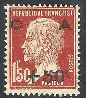 France 1929 Sinking Fund chestnut 1f.50c + 50c mint SG478