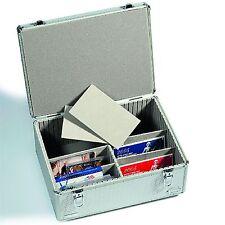 Sammelkoffer CARGO MULTI XL für Postkarten oder Münzen-Sätze, Alu-Design(316530)