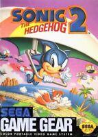 Sonic The Hedgehog 2 For Sega Game Gear Vintage