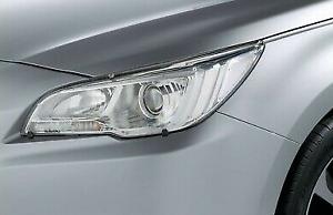 Genuine Subaru Headlamp protectors Outback 2010 to 2014 j101aaj100