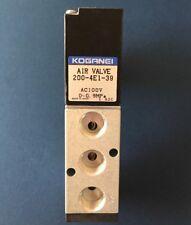 New | Koganei Solenoid Valve 200-4E1-21-39-75 | Mazak Part G50KT000300 | #4036