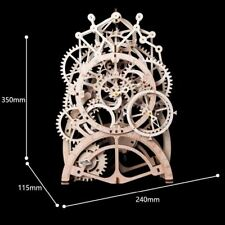 DIY 3D Wood Puzzle kit Pendulum Clock (Ship from USA)