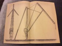 Book Print - Steam Derrick on Crane - 1880