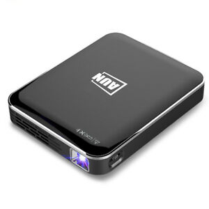 AUN X3 Mini Projector 1080P Supported Android/IOS Phone Screen Mirroring Home