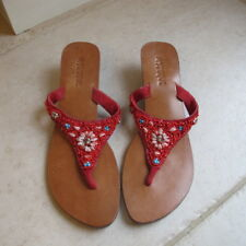 Mystique Orange Beaded sandals.Size 10. New without tags.Excellent condition.