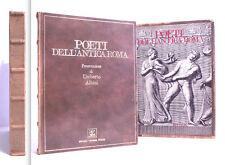 LIBRO - POETI DELL'ANTICA ROMA - U. ALBINI - EDITALIA - ESEMPLARE N. 641 - 1972