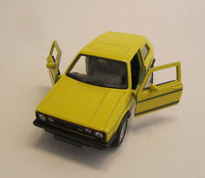 Welly vw Golf 1 GTI/giallo/pressofuso Model/NEX MODELS/1:34 - 1:39/Scatola Originale