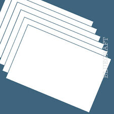 100 x A6 White Blank Competition Entry Postcards 230microns 175gsm