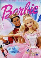 Barbie Journal Herbst/Winter 2001 2002 Prospekt Katalog Mattel brochure catalog