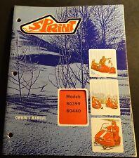 VINTAGE 1971 BOLENS SPRINT SNOWMOBILE OWNERS MANUAL 80399 & 80440 (711)