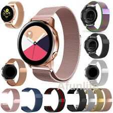 Samsung Galaxy Watch Active 2 40 44mm 42 /46mm Bands Stainless Steel Metal Strap