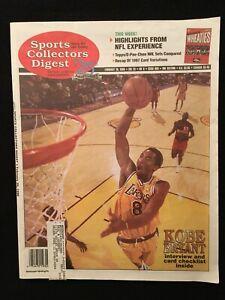 1998 Sports Collectors Digest magazine / Kobe Bryant / Randy Johnson / SIP