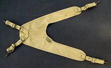 Wwii Combat Medic Yoke Suspenders Belt Medical Original