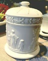 Antique Vintage Wedgwood Creamware Jar Dish