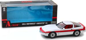 Greenlight The A Team 1984 Chevrolet Corvette C4 1:18 Scale Diecast 13532