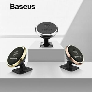 Baseus Universal Car Phone Holder 360 Degree GPS Magnetic for I Phone & Samsung