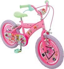 """LOL Surprise Kids Girls Bike 16"""" Wheel Childrens Bicycle Steel Frame 5+ Years"""