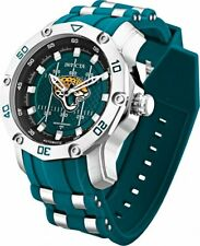 Invicta NFL JACKSONVILLE JAGUAR Men's 50mm Pro Diver Scuba Automatic Strap Watch