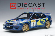 AUTOart 89791 Subaru Impreza WRC 1997 #4 Rally of Monte Carlo 1:18TH Scale