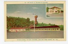 St. Louis Motel—Ste Anne de Beaupre Vintage Roadside CPA Quebec 1957