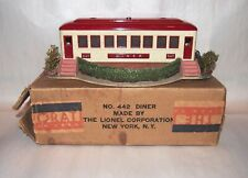 Lionel Prewar O Gauge 442 Landscaped Diner! Collector Grade! Boxed! PA