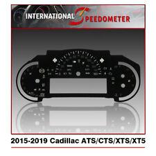 Speedometer Faceplate Fits a 2015-2019 Cadillac ATS/CTS/XTS/XT5 (MPH)