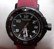 Wrist Amfibia Turbine Automatic Mechanical Mens Fashion Watch VOSTOK Red 236432