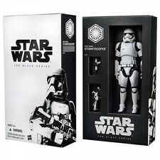 STAR WARS BLACK SERIES SDCC FIRST ORDER STORMTROOPER, ORIGINAL Y NUEVA EN CAJA.