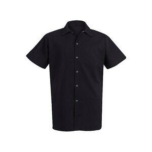 Brand New Chef Designs 5035 Black Cook Shirt size  S,M, L, XL,2XL