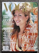 Rare 2004 VOGUE USA American Magazine featuring Jennifer Aniston - Friends