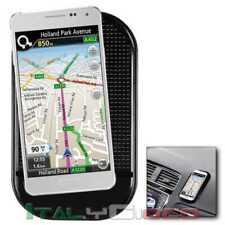 Tappetino In Silicone Supporto Antiscivolo Cruscotto da Auto per SmartPhone Nero