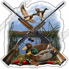 "Duck Hunting Hunter Gun Rifle Wildlife Hobby Car Bumper Vinyl Sticker Decal 4.6"""