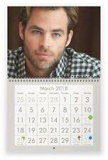 CHRIS PINE 2018 Wall Calendar
