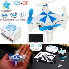 Cheerson CX-OF WiFi FPV 2.4G 6Axis LED APP Mini RC Quadcopter Drone 0.3MP HD Cam